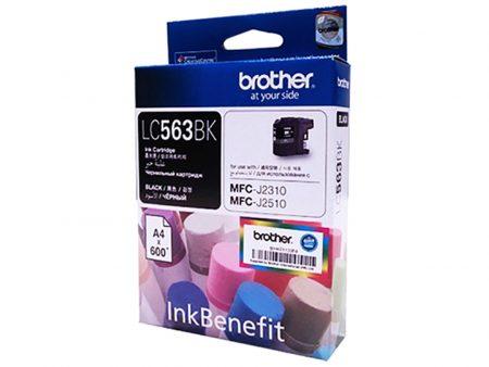 Mực in phun Brother LC563BK (đen) – Dùng cho máy MFC-J2310/ J2510/ J3520/ J3720