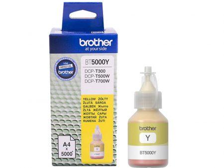 Mực in phun Brother BT5000Y (vàng) – Dùng cho máy DCP T300/ T700W/ T500W/ MFC T800W