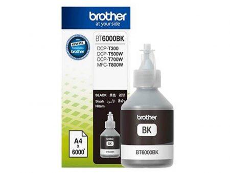 Mực in phun Brother BT6000BK (đen) – Dùng cho máy DCP T300/ T700W/ T500W/ MFC T800W