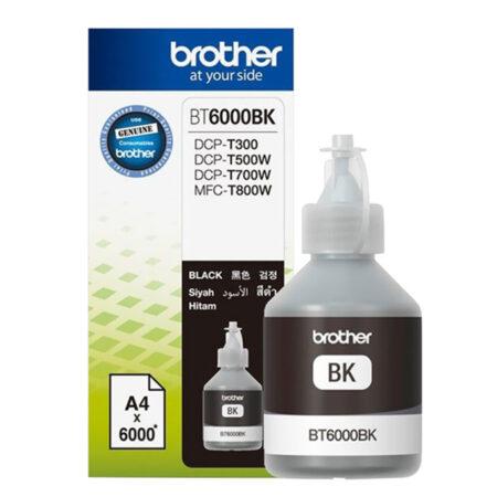 Mực in phun Brother BT6000BK (đen) – Cho máy DCP-T300/ T700w/ T500w/ MFC-T800w