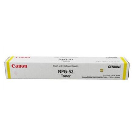 Mực photo Canon NPG-52Y (vàng) – Dùng cho máy Canon iR ADV C2020/ C2025/ C2030