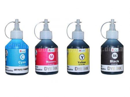 Bộ mực nước Estar 4 màu cho máy in phun Canon (100ml)