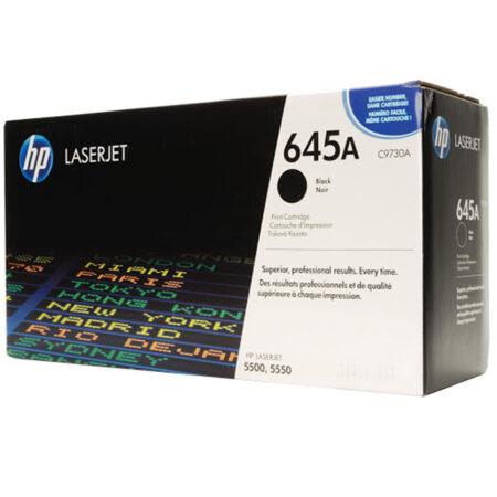 Hộp mực màu HP 645A (đen) – Dùng cho máy HP Color 5500/ 5550