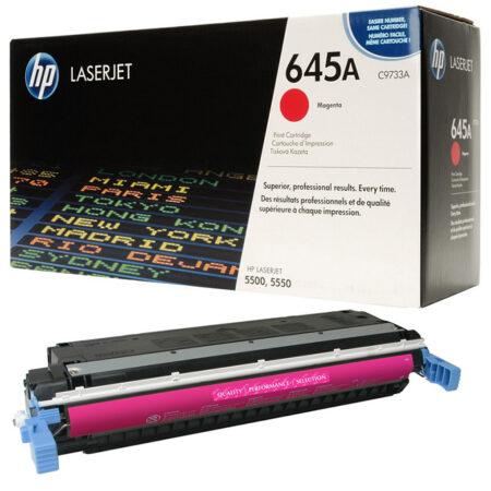 Hộp mực màu HP 645A (đỏ) – Dùng cho máy HP Color 5500/ 5550