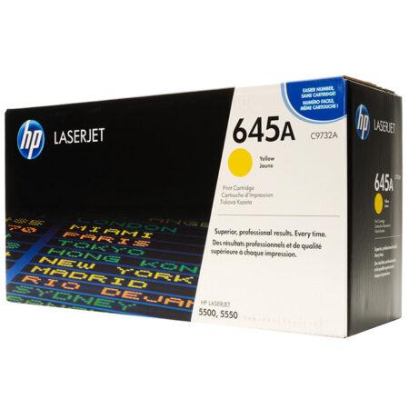 Hộp mực màu HP 645A (vàng) – Dùng cho máy HP Color 5500/ 5550
