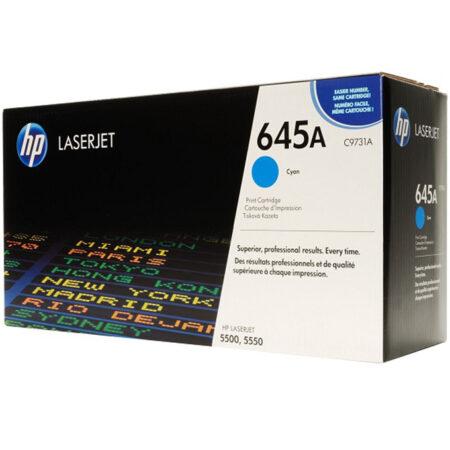 Hộp mực màu HP 645A (xanh) – Dùng cho máy HP Color 5500/ 5550