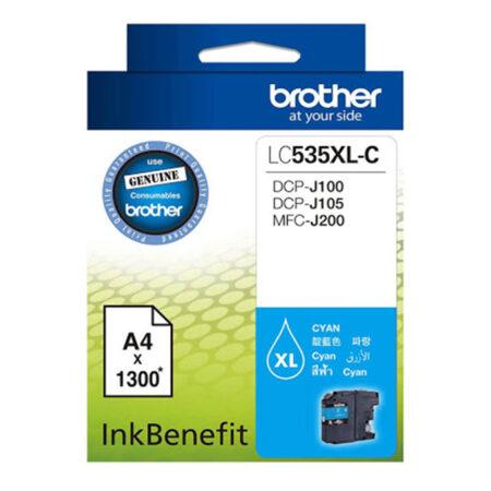 Mực in phun Brother LC535C (xanh) – Cho máy DCP-J100/ DCP-J105/ MFC-J200