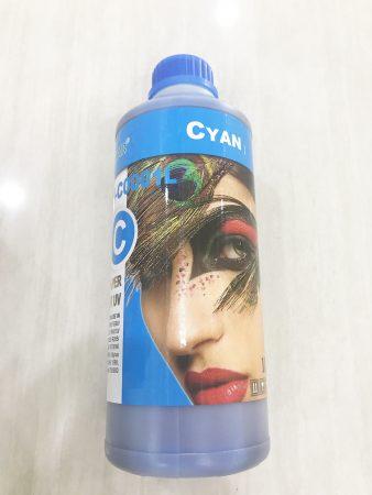 Mực Pigment UV màu xanh cho máy in phun màu Epson (1 lít)