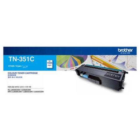 Hộp mực màu Brother TN351C (xanh) – Cho máy L8350Cdw/ L8850Cdw/ L9550Cdw
