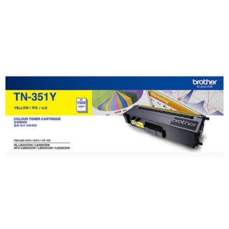 Hộp mực màu Brother TN351Y (vàng) – Cho máy L8350Cdw/ L8850Cdw/ L9550Cdw