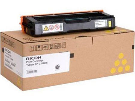 Hộp mực màu Ricoh 310S (vàng) – Cho máy SP C231n/ C232dn/ C231sf/ C232sf/ C242dn/ C242sf