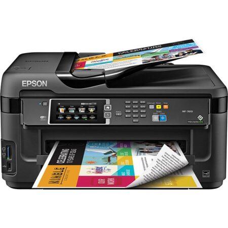 Máy in màu đa năng A3 Epson Workforce 7610 (In đảo mặt/ Copy/ Scan/ Fax/ WiFi)