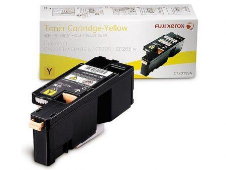 Hộp mực màu Xerox CT201594 (vàng) – Cho máy DocuPrint CP105/ CP205/ CP215W/ CM205B