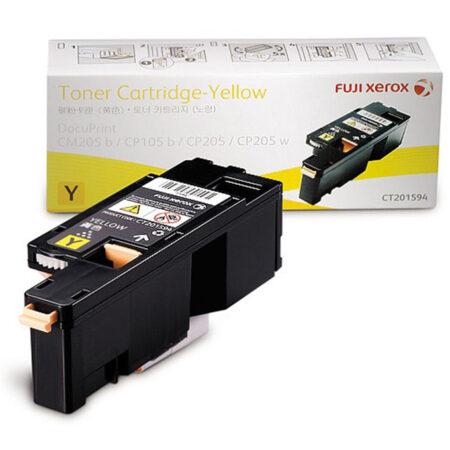Hộp mực màu Xerox CT201594 (vàng) – Cho máy CP105/ CP205/ CP215w/ CM205b