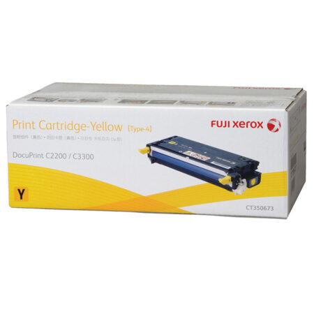 Hộp mực màu Xerox CT350673 (vàng) – Cho máy Xerox C2200/ C3300
