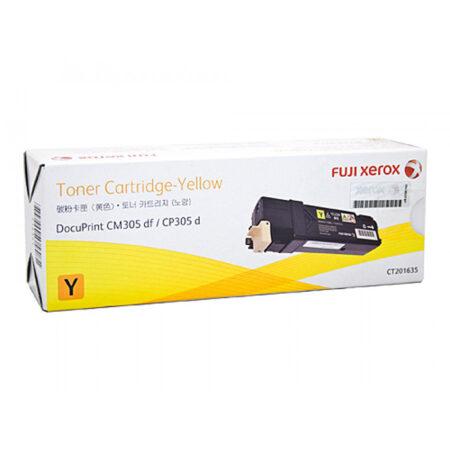Hộp mực màu Xerox CT201635 (vàng) – Cho máy CP305d/ CM305df