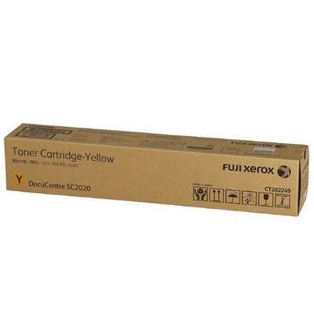 Hộp mực màu Fuji-Xerox CT202249 (vàng) – Cho máy DocuCentre SC2020