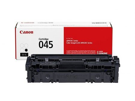 Hộp mực màu Canon 045BK (đen) – Cho máy Canon LBP 611Cn/ 613Cdw/ MF631Cn/ 633Cdw/ 635Cx
