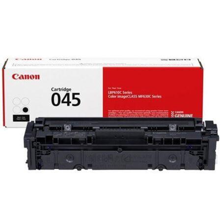 Hộp mực in màu Canon 045BK (đen) – Cho máy LBP 611Cn/ 613Cdw/ MF631Cn/ 633Cdw/ 635Cx