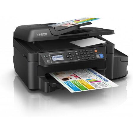 Máy in màu đa năng Epson L655 (In đảo mặt/ Copy/ Scan/ Fax + WiFi)