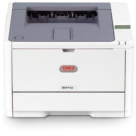 Máy in laser Oki B411d (khổ A4 + In đảo mặt)