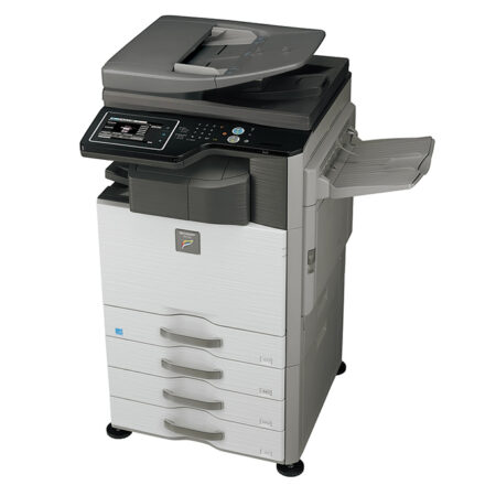 Máy photocopy Sharp MX-M464N (In đảo mặt/ Copy/ Scan/ DADF + Network)