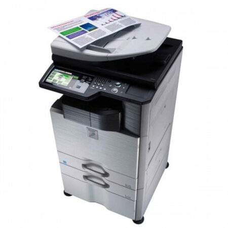 Máy photocopy Sharp AR-M460N (In đảo mặt/ Copy/ Scan/ DADF + Network)