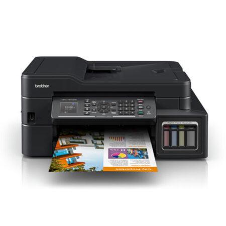 Máy in phun màu đa năng Brother MFC-T910dw (In đảo mặt/ Copy/ Scan/ Fax + WiFi)