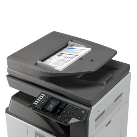 Máy photocopy Sharp AR-6031N (In đảo mặt/ Copy/ Scan/ DADF + Network)