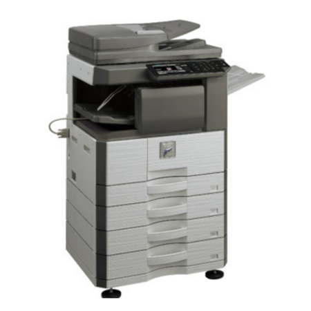 Máy photocopy Sharp MX-M356N (In đảo mặt/ Copy/ Scan/ DADF + Network)