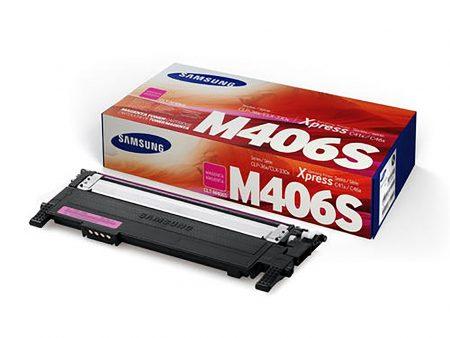 Hộp mực màu Samsung M406S (đỏ) – Cho máy Samsung CLP-365/ C410/ C460