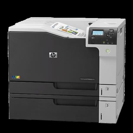 Máy in laser màu HP Color Enterprise M750dn (khổ A3 + In đảo mặt/ Network)