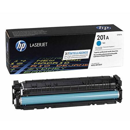 Hộp mực màu HP 201A (xanh) – Cho máy HP Color M252n/ M252dw/ M277dn/ M277dw