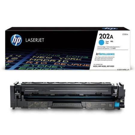 Hộp mực màu HP 202A (xanh) – Cho máy HP Color M254nw/ M254dw/ M280nw/ M281fdn/ M281fdw