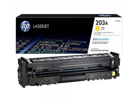Hộp mực màu HP 203A (vàng) – Cho máy HP Color M254nw/ M254dw/ M280nw/ M281fdn/ M281fdw