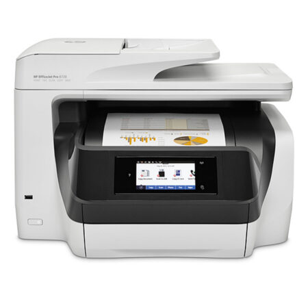 Máy in phun đa năng HP OfficeJet Pro 8720 (In đảo mặt/ Copy/ Scan/ Fax + WiFi)