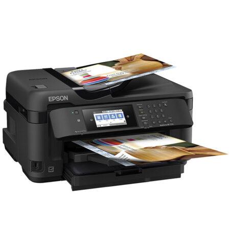 Máy in màu đa năng A3 Epson Workforce 7710 (In đảo mặt/ Copy/ Scan/ Fax/ WiFi)