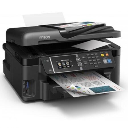 Máy in màu đa năng A3 Epson L1455 (In đảo mặt/ Copy/ Scan/ Fax + WiFi)