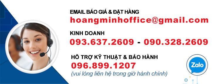 Liên hệ đặt hàng tại Hoàng Minh Office