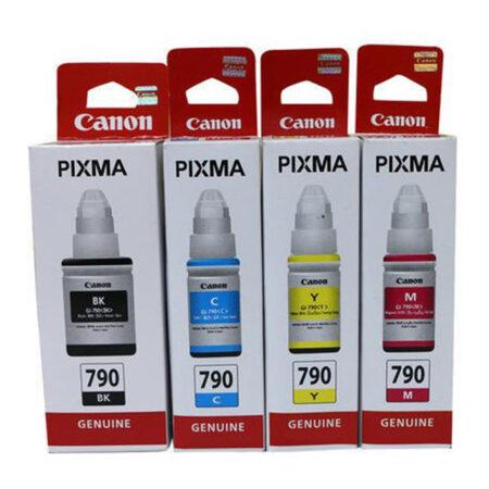 Bộ mực in 4 màu Canon GI-790 cho máy Canon G1010/ G2010/ G3010