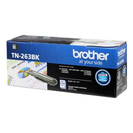 Hộp mực màu Brother TN263BK (đen) – Cho máy L3230Cdn/ L3551Cdw/ L3750Cdw