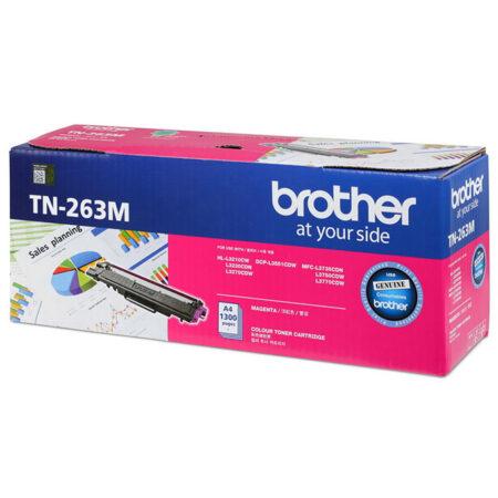 Hộp mực màu Brother TN263M (đỏ) – Cho máy L3230Cdn/ L3551Cdw/ L3750Cdw