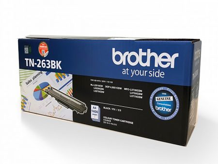 Hộp mực màu Brother TN263BK (đen) – Brother 3230cdn/ 3551cdw/ 3750cdw