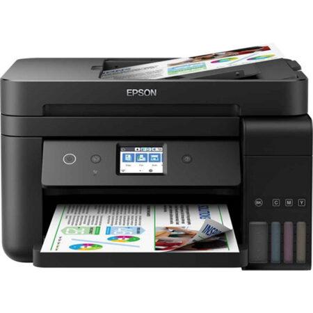 Máy in màu đa năng Epson L6190 (In đảo mặt/ Copy/ Scan/ Fax + WiFi)