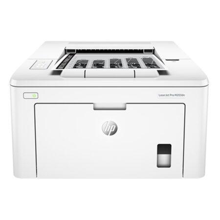 Máy in HP LaserJet Pro M203dn (khổ A4 + In đảo mặt/ LAN)