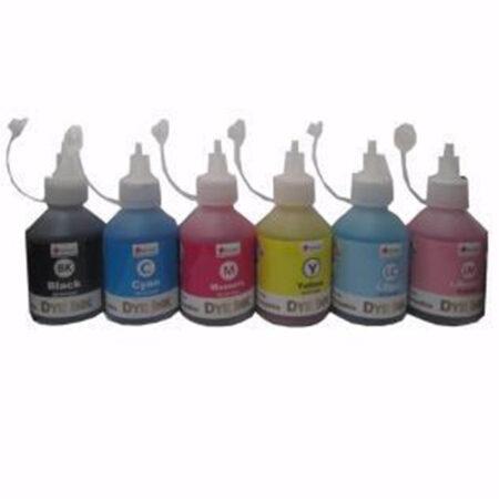 Bộ mực Pigment UV 6 màu cho máy in phun màu Epson (100ml)