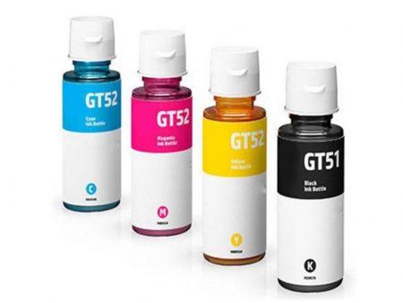 Bộ mực in 4 màu GT51/52 cho máy HP DeskJet GT 5810/ GT 5820