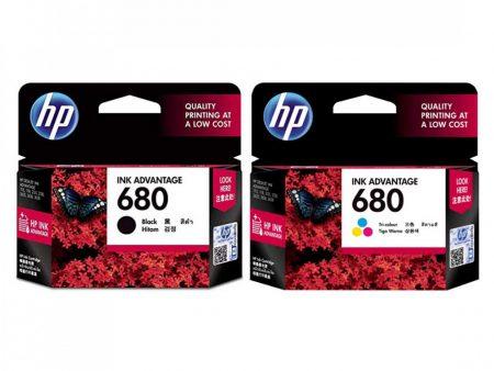 Bộ mực in HP 680 đen & màu cho máy HP DJ 1115/ 2135/ 2675/ 3635/ 3835/ 4535/ 4675