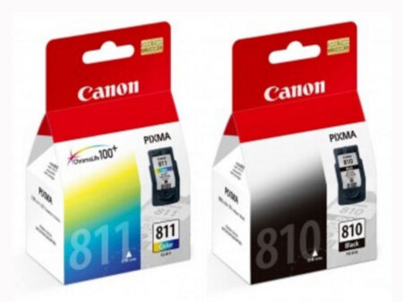 Bộ mực in Canon PG 810 / CL 811 – Cho máy iP2770/ 2772/ MP 237/ 287/ MX 328
