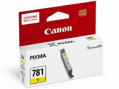 Mực in Canon CLI 781Y (vàng) – Cho máy in Canon TS707/ TS9170/ TS9570